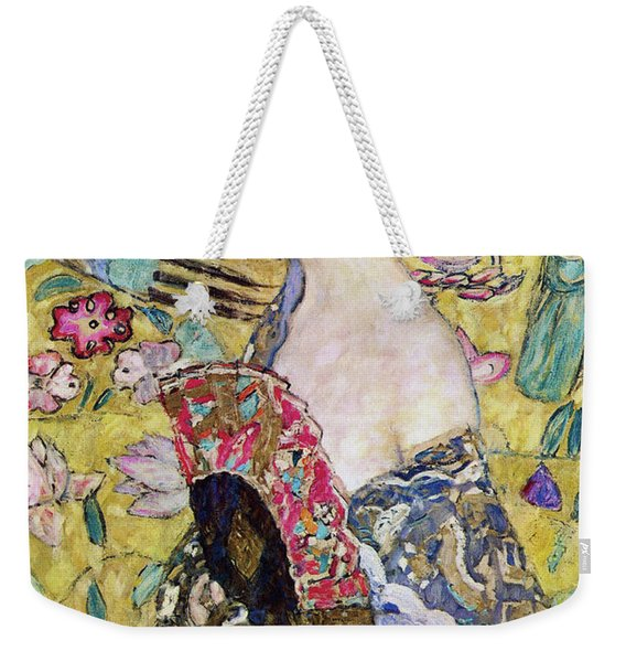 Lady With A Fan Weekender Tote Bag