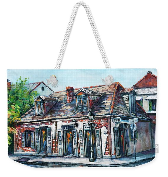 Lafitte's Blacksmith Shop Weekender Tote Bag