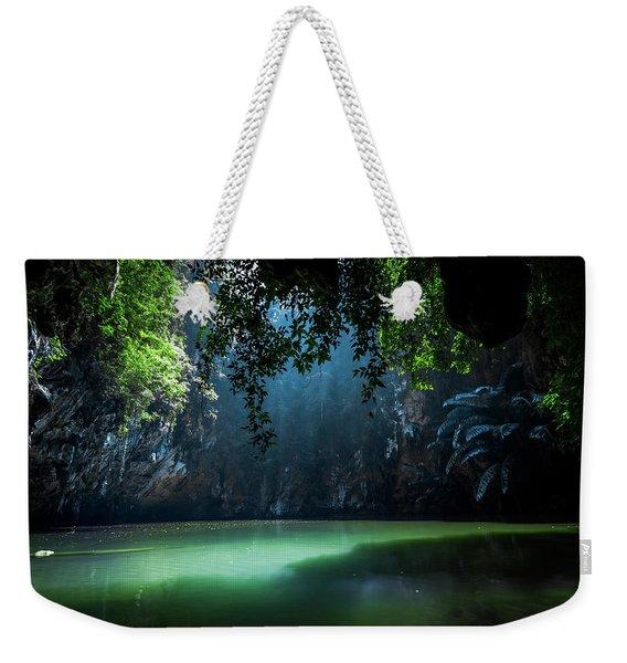 Lagoon Weekender Tote Bag