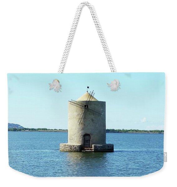 Lagoon Of Orbetello Weekender Tote Bag