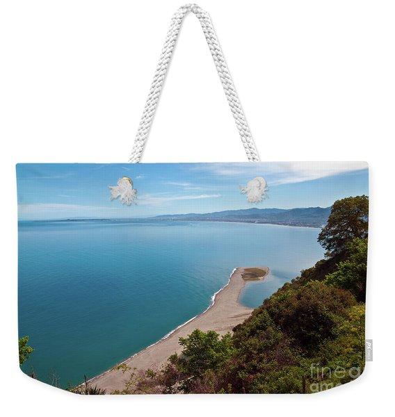 Lagoon Of Tindari On The Isle Of Sicily  Weekender Tote Bag