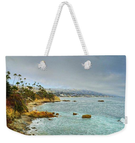 Laguna Beach Coastline Weekender Tote Bag
