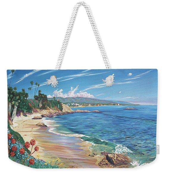 Laguna Color Weekender Tote Bag