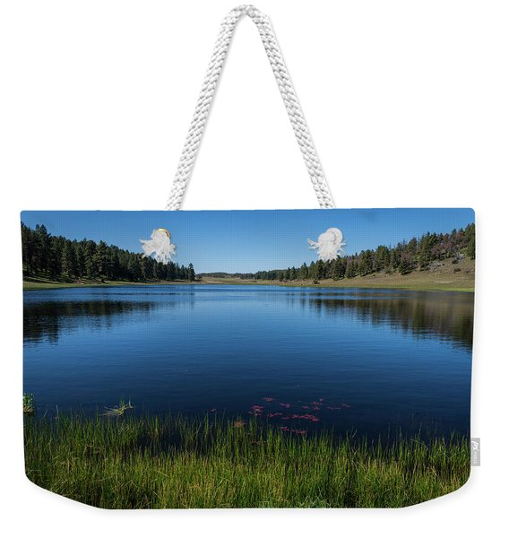 Laguna Meadow Lake Weekender Tote Bag