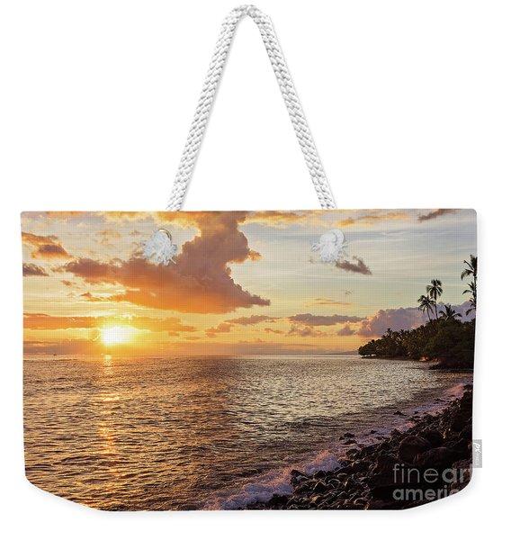 Lahaina Sunset Weekender Tote Bag