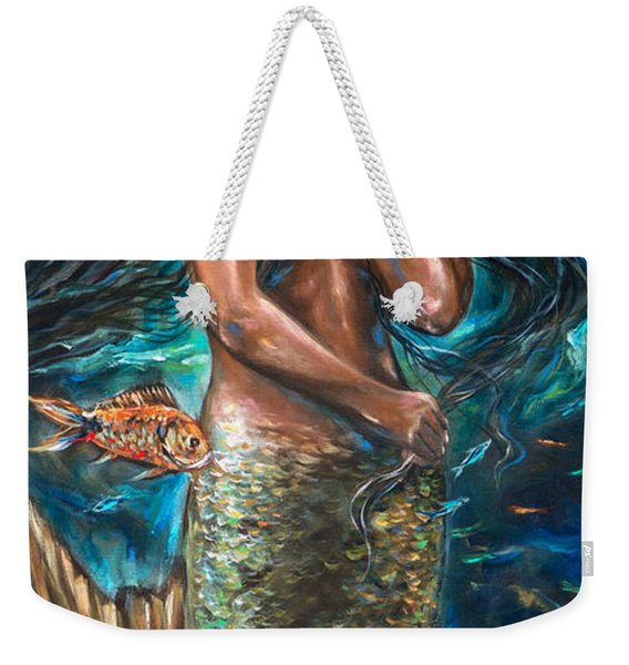Lailani Mermaid Weekender Tote Bag