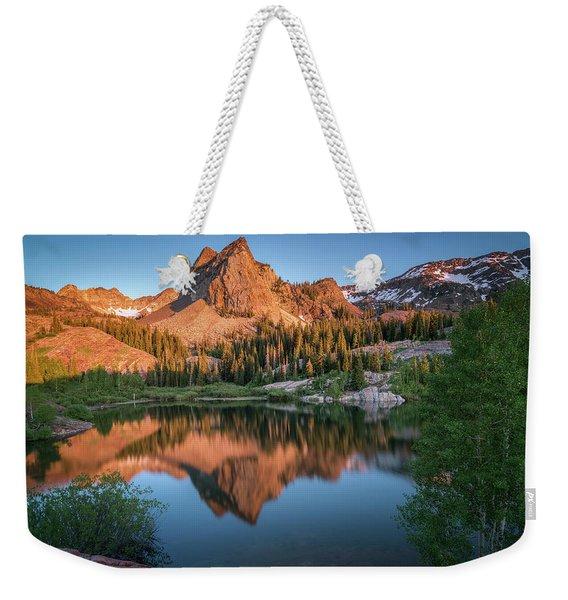 Lake Blanche At Sunset Weekender Tote Bag