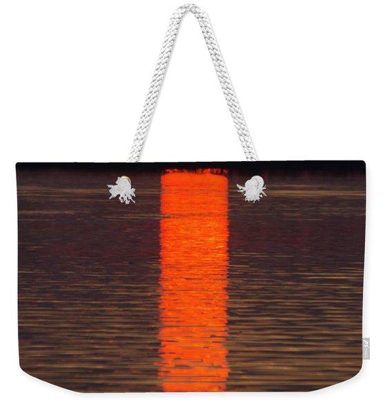 Lake Dora Sunset Weekender Tote Bag