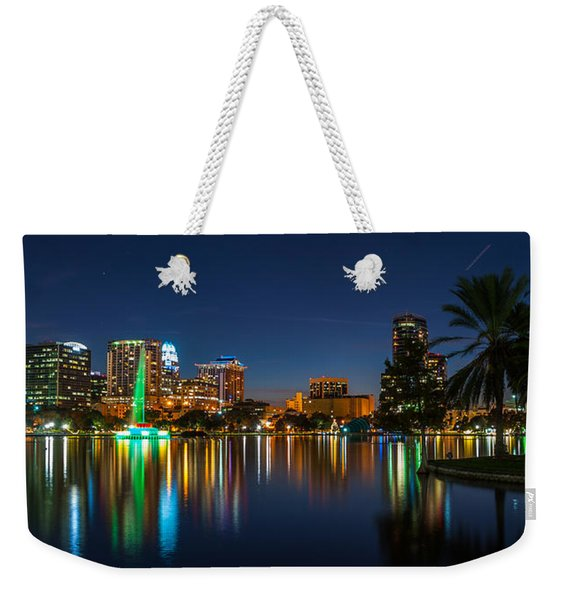 Lake Eola Orlando Weekender Tote Bag
