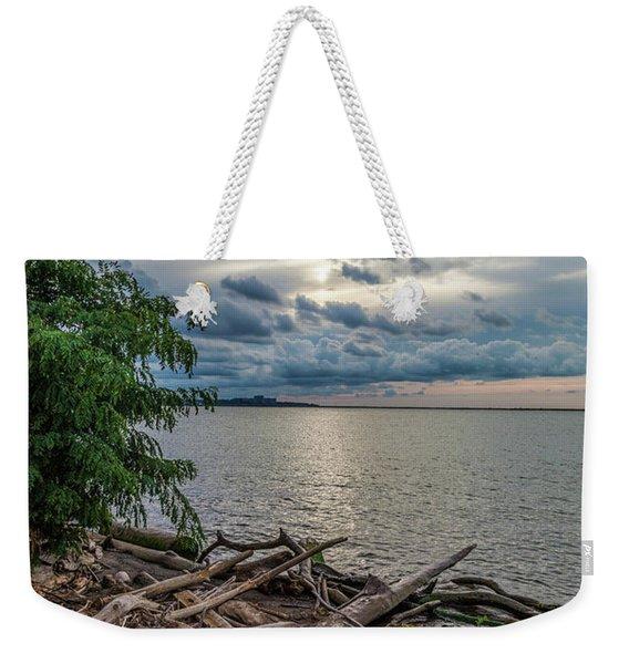 Lake Erie Serenade Weekender Tote Bag