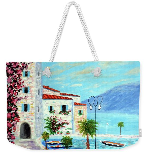 Lake Garda Bliss Weekender Tote Bag