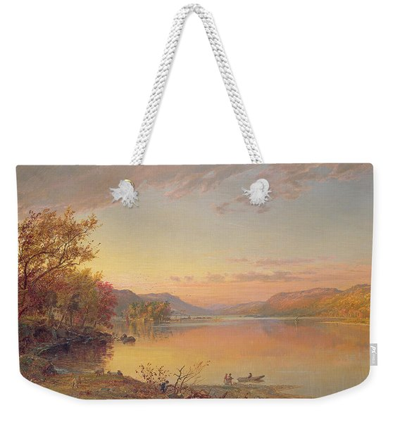 Lake George  Ny Weekender Tote Bag
