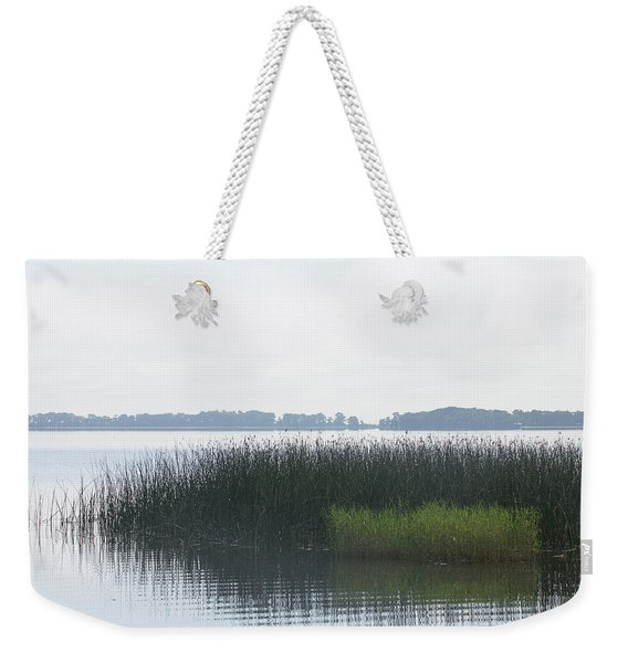 Lake Grasses Weekender Tote Bag