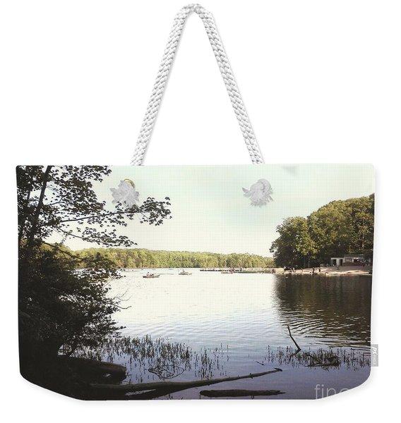 Lake At Burke Va Park Weekender Tote Bag