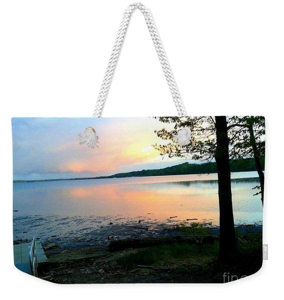 Lake In Virginia Weekender Tote Bag