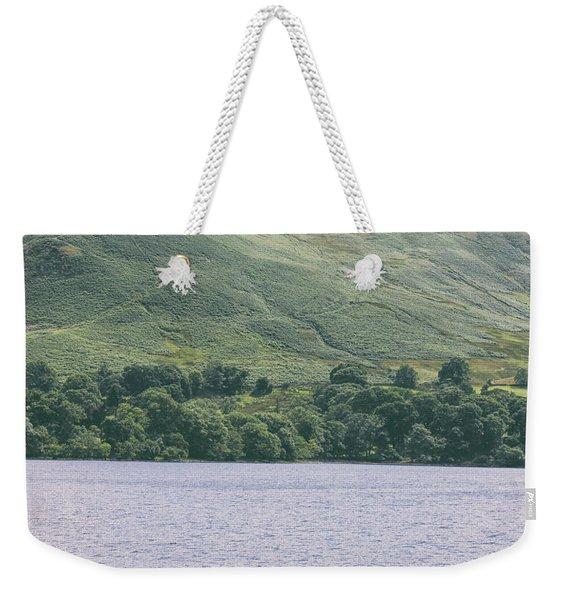 Lake Kayaking Weekender Tote Bag