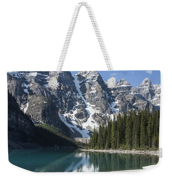 Moraine Lake Canoes 5051 Weekender Tote Bag
