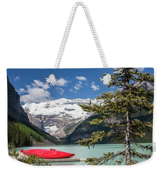 Lake Louise Kayaks Weekender Tote Bag