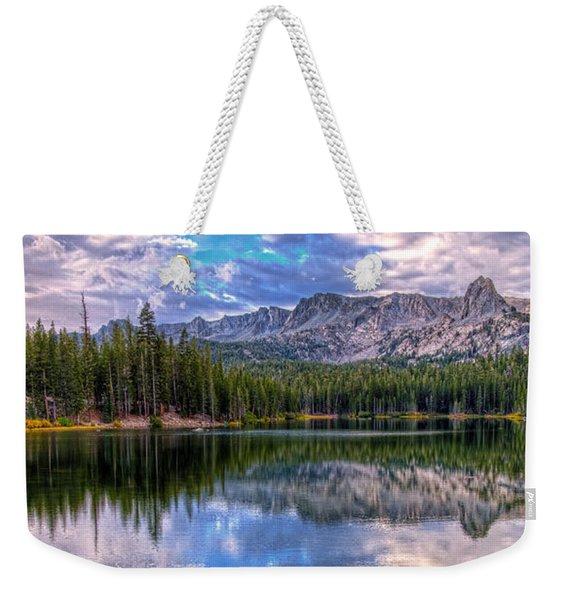 Lake Mamie Panorama Weekender Tote Bag