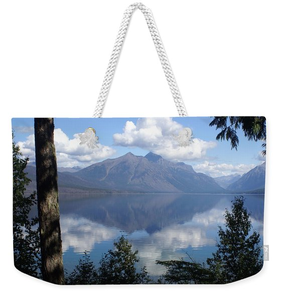 Lake Mcdonald Glacier National Park Weekender Tote Bag
