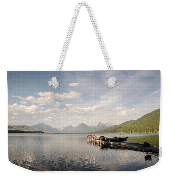 Lake Mcdonald Weekender Tote Bag
