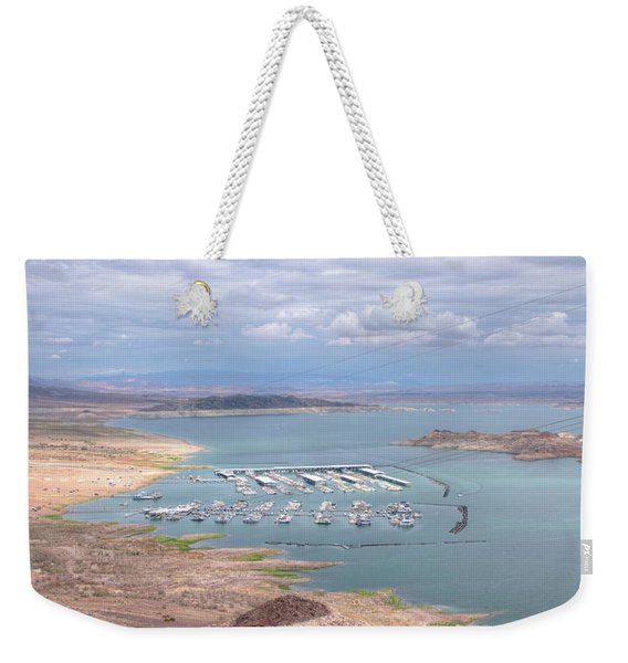 Lake Meade Weekender Tote Bag