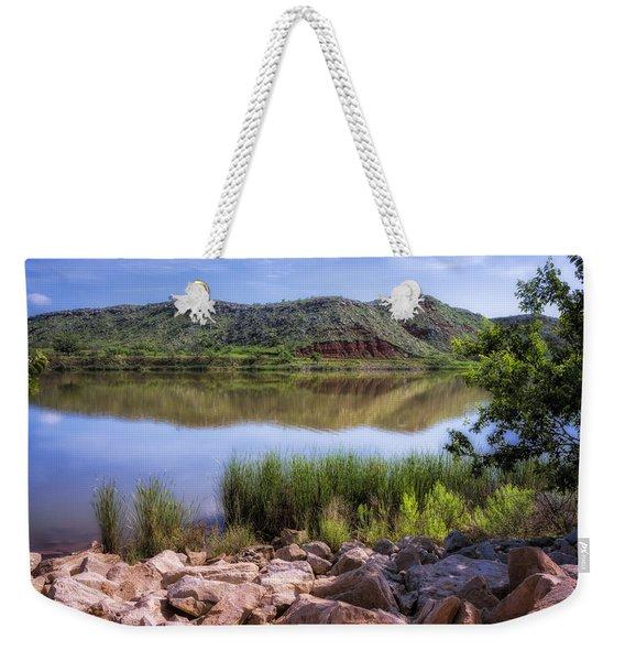 Lake Meredith Weekender Tote Bag