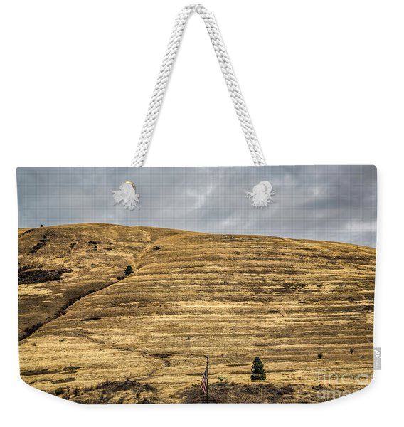 Lake Missoula Weekender Tote Bag