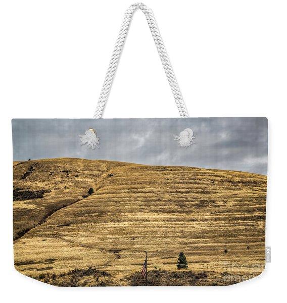 Lake Missoula Weekender Tote Bag