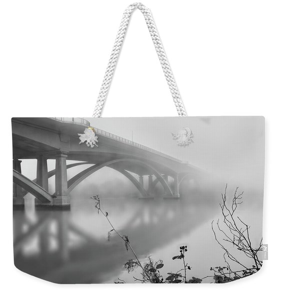 Lake Natoma Crossing Weekender Tote Bag