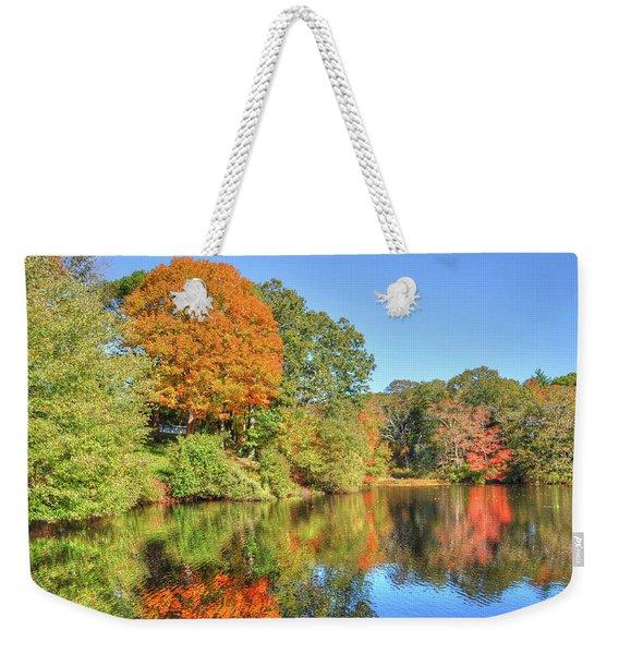 Lake Noquochoke, Dartmouth, Ma Weekender Tote Bag