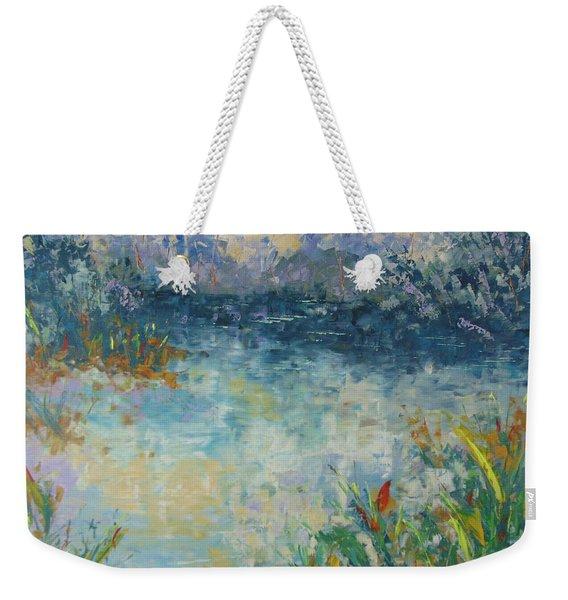 Lake Of Provence Weekender Tote Bag