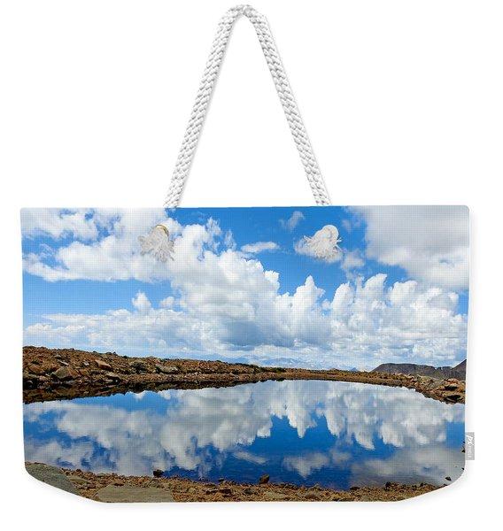 Lake Of The Sky Weekender Tote Bag