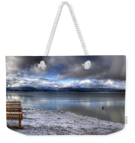 Lake Pend D'oreille At 41 South Weekender Tote Bag
