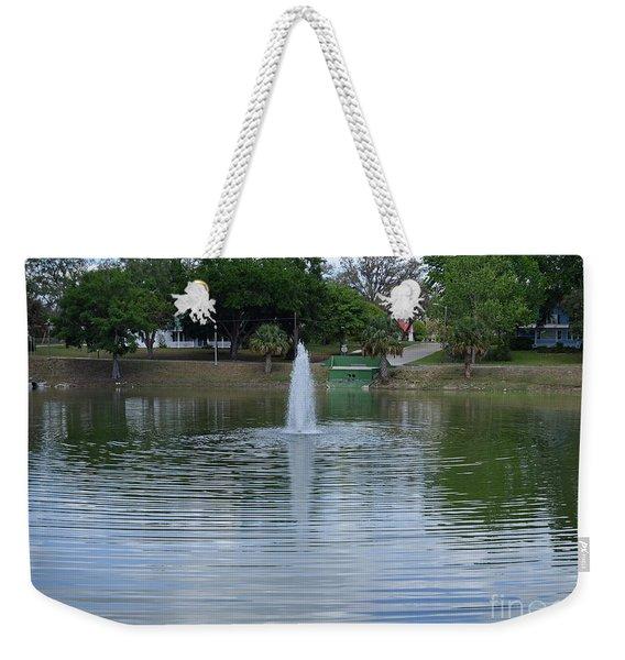 Lake Play Weekender Tote Bag