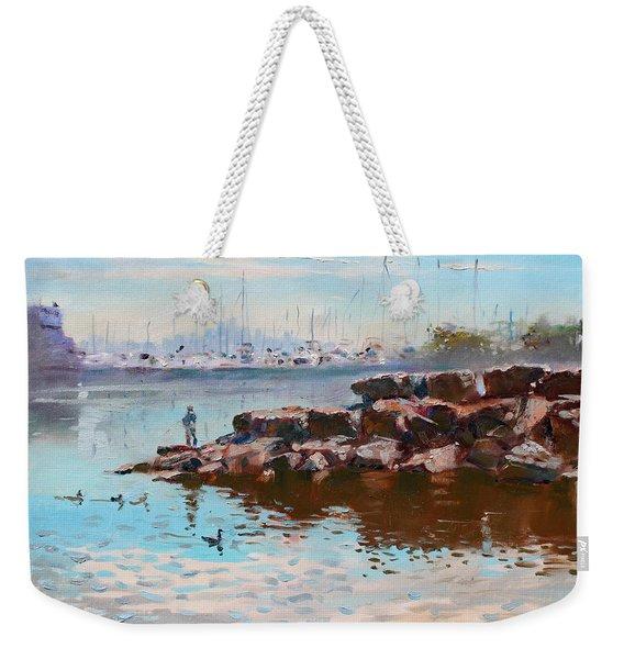 Lake Shore Mississauga Toronto  Weekender Tote Bag