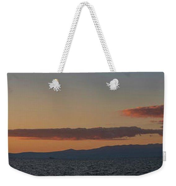 Lake Tahoe South Shore Panorama - 1 Weekender Tote Bag