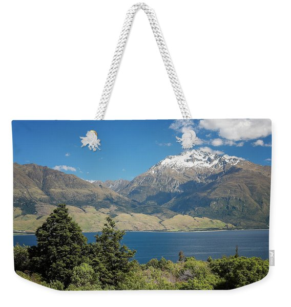 Lake Wanaka New Zealand Iv Weekender Tote Bag
