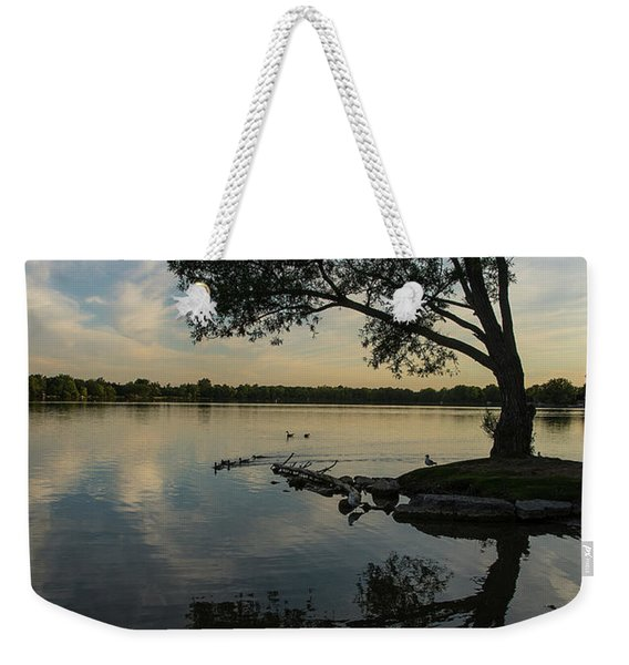 Lake Wilcox Lone Tree 0690 Weekender Tote Bag