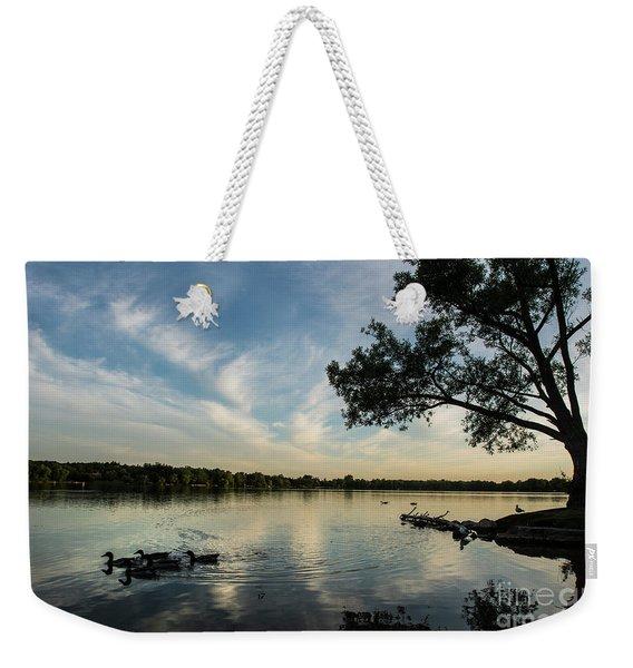 Lake Wilcox Lone Tree 0698 Weekender Tote Bag