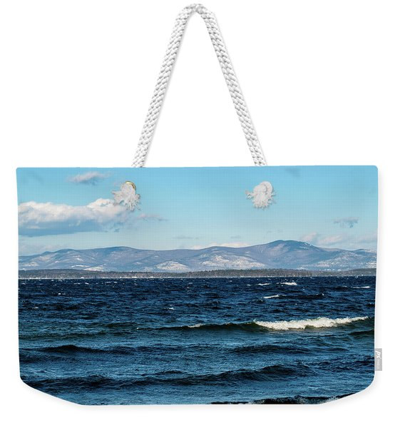 Lake Winnipesaukee Weekender Tote Bag