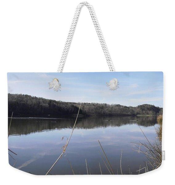Lake Zwerner Early Spring Weekender Tote Bag