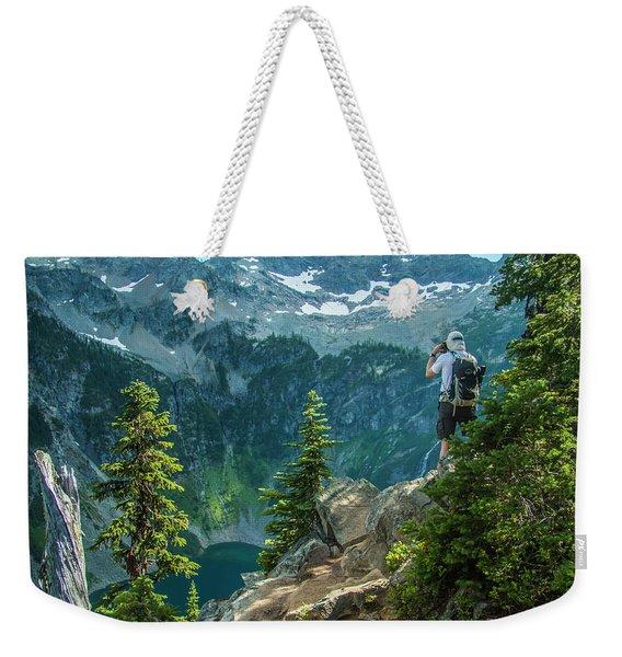 Lakeside View Weekender Tote Bag