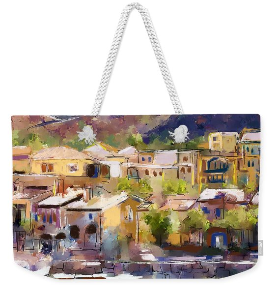 Lakeside Village Weekender Tote Bag