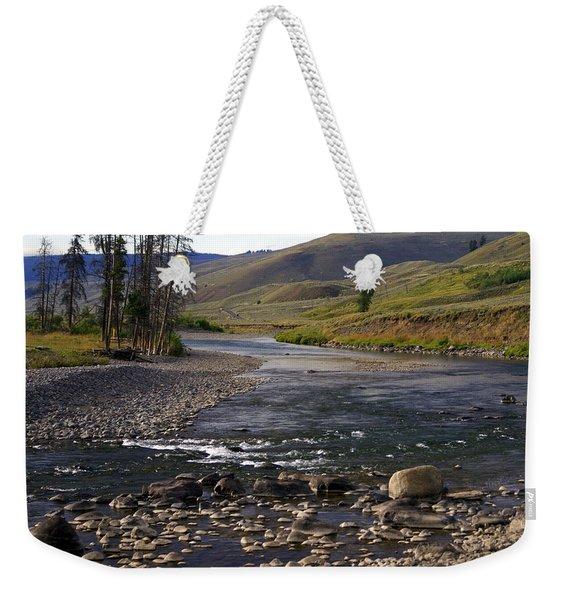 Lamar Valley 3 Weekender Tote Bag