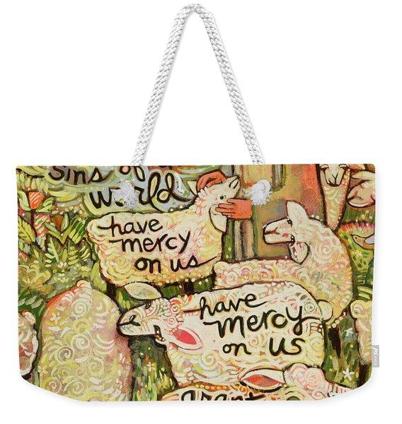 Lamb Of God Weekender Tote Bag