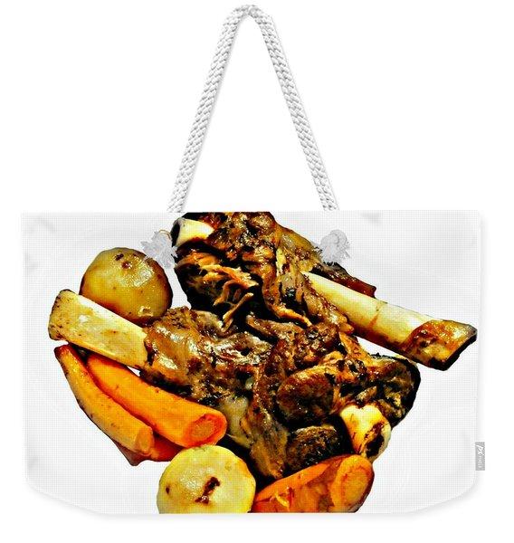 Mom's Lamb Stew Weekender Tote Bag
