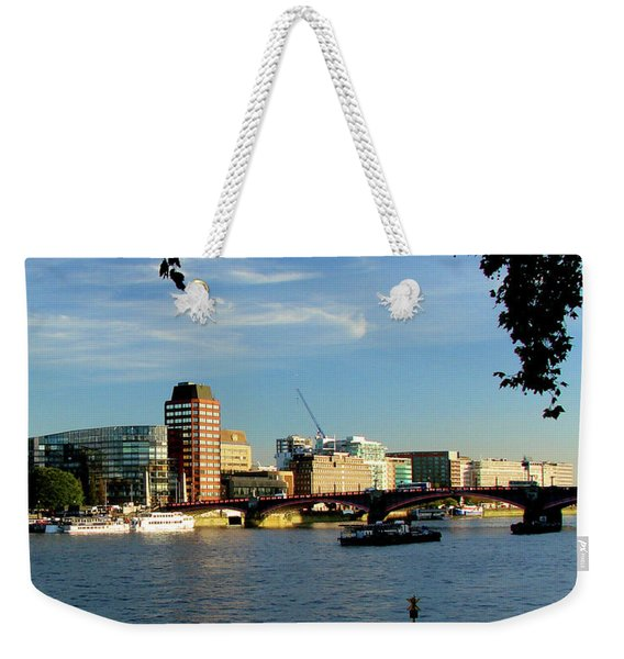Lambeth Bridge Across The Thames, London Weekender Tote Bag
