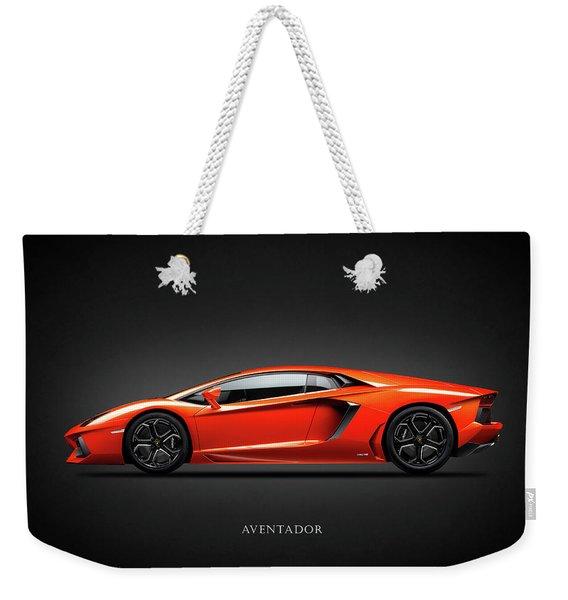 Lamborghini Aventador Weekender Tote Bag