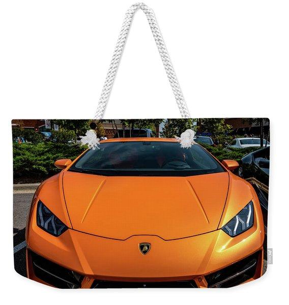 Lamborghini Huracan Weekender Tote Bag
